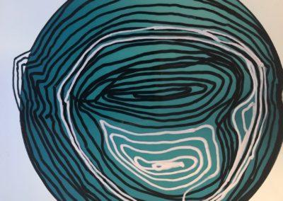 Life Cricles no.2 - Polaroid Circles - Billie Thackwell