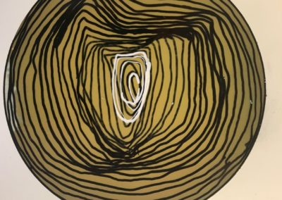 Life Cricles no.4- Polaroid Circles - Billie Thackwell