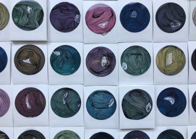 Life Cricles no.6- Polaroid Circles - Billie Thackwell