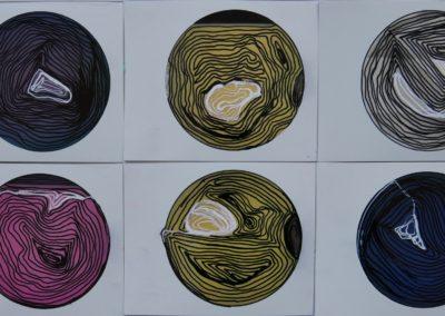 Life Cricles no.9 - Polaroid Circles - Billie Thackwell